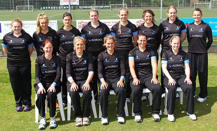 [Sussex Women's Cricket Squad 2015 © Don Miles]